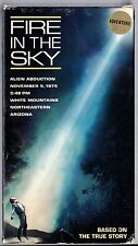 Fire in the Sky (VHS, 1993) 'struck by a brilliant bolt of energy beaming from'