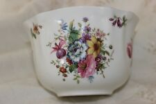 Royal Worcester Spode Hammesrley Pink Roses and Buds Sugar Bowl