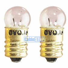 2x Mini SCREW 4.8v TORCH LIGHT BULB TWIN PACK 300mA  MES Round E10 Fitting