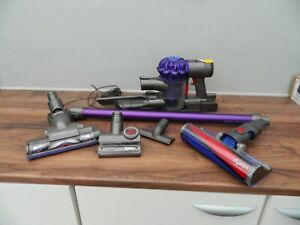Dyson V6 Cordless Vacuum Cleaner with accessories