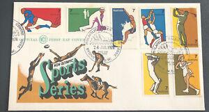 Australia FDC WCS 1974 Non Olympic Sports Series