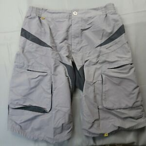 Mavic MTB Shorts Size XL / US Large Baggy Cycling Grey Ergoride Stretch