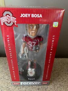 JOEY BOSA OHIO STATE BUCKEYES LIMITED EDITION BOBBLEHEAD