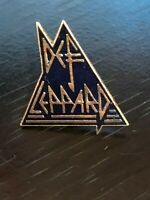 Vintage Collectible Def Leppard Colorful Metal Pinback Lapel Pin Hat Pin