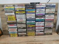 Large Lot of 120 Vintage Country Cassette Tapes Garth Brooks Tim McGraw MORE!
