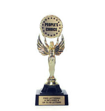 People's Choice Trophy- Achievement- Custom- Desktop Series- Free Lettering