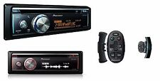 Pioneer DEH-X8700BT Autoradio mit CD MP3 USB Bluetooth + Lenkradfernbedienung