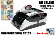NEW AU Digital Australian Money Note Cash Counter Machine High Quality Accurate