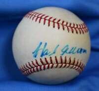 Hank Aaron JSA Coa Autograph Feeney National League ONL Hand Signed BasebaLL