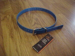 """SportDOG Replacement Dog Collar Strap -Blue 3/4-inch Wide 28"""" Long"""