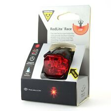 Topeak TMS066 RedLite Race Bike Bicycle Cycling Red LED Rear Tail Safety Light