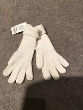 Women's Charter Club Women's Ivory Soft Chenille Gloves One Size Nwt