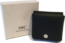 IWC Cufflinks Jewellery Leather Pouch Box