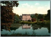 Friedrichsroda. Schloss Reinhardsbrunn. PZ vintage photochromie, Deutschland p