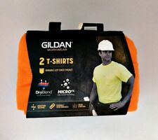 Gildan Workwear P2 Men's Pocket T-Shirts 3X-Large DryBlend Micro FX