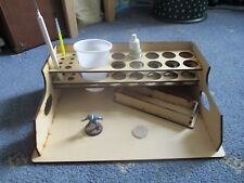 Wargame Craft Paint Table Station Stand Vellejo A4 Size for painting on Lap