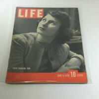 Vintage Life Magazine: June 6 1938 - Youth Problem of the Year 1938