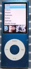 Apple iPod Nano A1285 8Gb 4th Generation Blue
