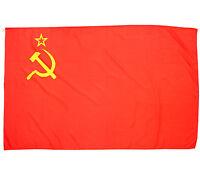 Fahne UDSSR 90 x 150 cm russische historische Hissflagge Russland Nationalflagge