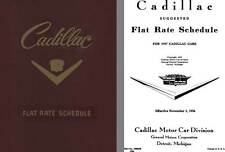 Cadillac 1957 - 1957 Cadillac Flat Rate Schedule
