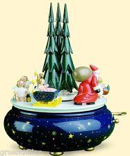 Wendt & Kühn Spieldose Spieluhr Weihnachtszug Stille Nacht 5336/35A Erzgebirge