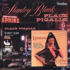 Stanley Black And His Orchestra Place Pigalle Music Of Lecuona CD 2-on-1