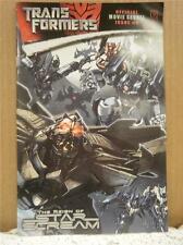 Vintage Comic- Transformers #5 August 2008 Blue Cover L91