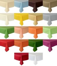 -AKTION - Tischdecken - abwaschbar Fleckschutz - 140x240 cm - 17 TOLLE Farben-