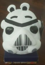 """Star Wars Angry Birds Plush 8 Inch Pig STORM TROOPER 8"""" light stains"""