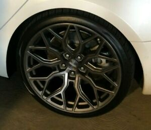 """Vossen HF-2, 20"""" Wheels, 5-114.3mm, Staggered,(Perfect for Tesla Model 3)"""