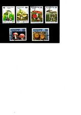 CAMBODGE  lot de 6 timbres champignons