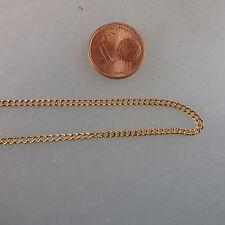 Feine Rundanker Kette Gold Double 2,0 mm 45 cm (41000)