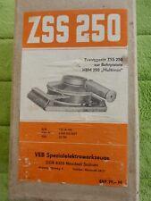 """Schwingschleifer, Zusatzgerät ZSS 250 zur Bohrpistole  HSM 250 """"Multimax"""", DDR"""