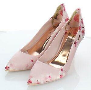 Y39 NEW $245 Women's Sz 40.5M Ted Baker Vyixyn Pointy Toe Pumps In Blossom Print