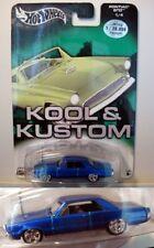 Hot Wheels Kool & Kustom Pontiac GTO CHASE w/ Real Riders - MOC - FREE SHIPPING!