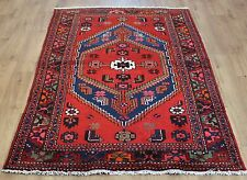 OLD WOOL HAND MADE PERSIAN ORIENTAL FLORAL RUNNER AREA RUG CARPET 198x125CM