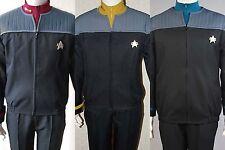 Star Trek NEM Duty Uniform Halloween Cosplay Kostüm Nemesis Shirt Abzeichen