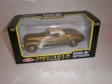 Russian racing car ZIS-101A closed top 1938 gold / Nash avtoprom