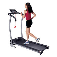 Gym Fitness Treadmill Electric Motorised Folding Running Machine Wide 320MM Belt