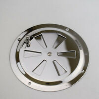 """Stainless Steel Boat Marine RV Round Butterfly Ventilator Vent Cover 5"""""""