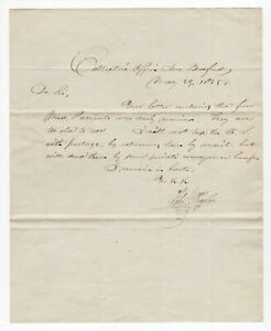 """""""Thomas Jefferson Signed Passports"""" - 1835 ALS from a William H. Taylor"""