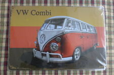 Camper Van VW Metal Sign Painted Poster Garage Superhero Wall Decor Art *A