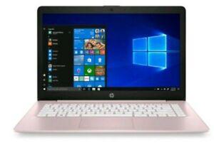 """💥NEW💥 - HP Stream 14"""" HD Intel N4000 4GB RAM 64GB eMMC Webcam BT Win 10"""