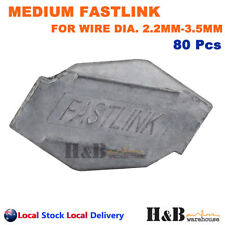 80X Fastlink Wire Joiners Fence Fencing Joiner Works With gripple Tensioning