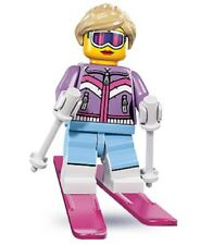 Lego Series 8 Collectible Minifigure--DOWNHILL SKIER--FLAT RATE SHIPPING!