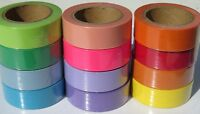 Plain Colours Washi Masking Tape 15mm X 10 Metre Rolls Fast UK Dispatch