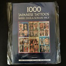 1000 JAPANESE TATTOOS Vol 2 Japan Tattoo Photo Book Irezumi Horimono Hannya 2001