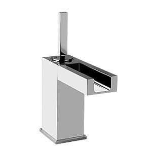 Gessi Rettangolo Cascata 27201 Single Lever Washbasin Mixer Chrome 031