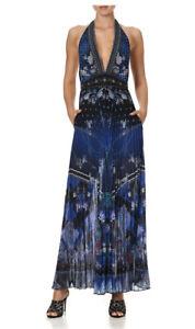 Camilla Neck Halter Jumpsuit Camden Moon Size XS Now $750