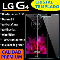 CRISTAL TEMPLADO PROTECTOR DE PANTALLA 0.3MM PARA LG G4 9H 2.5D VIDRIO PREMIUM